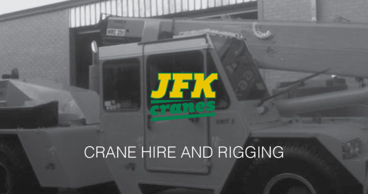 JFK Cranes. Crane Hire and Rigging, Melbourne. 25T Franna. slider image 2