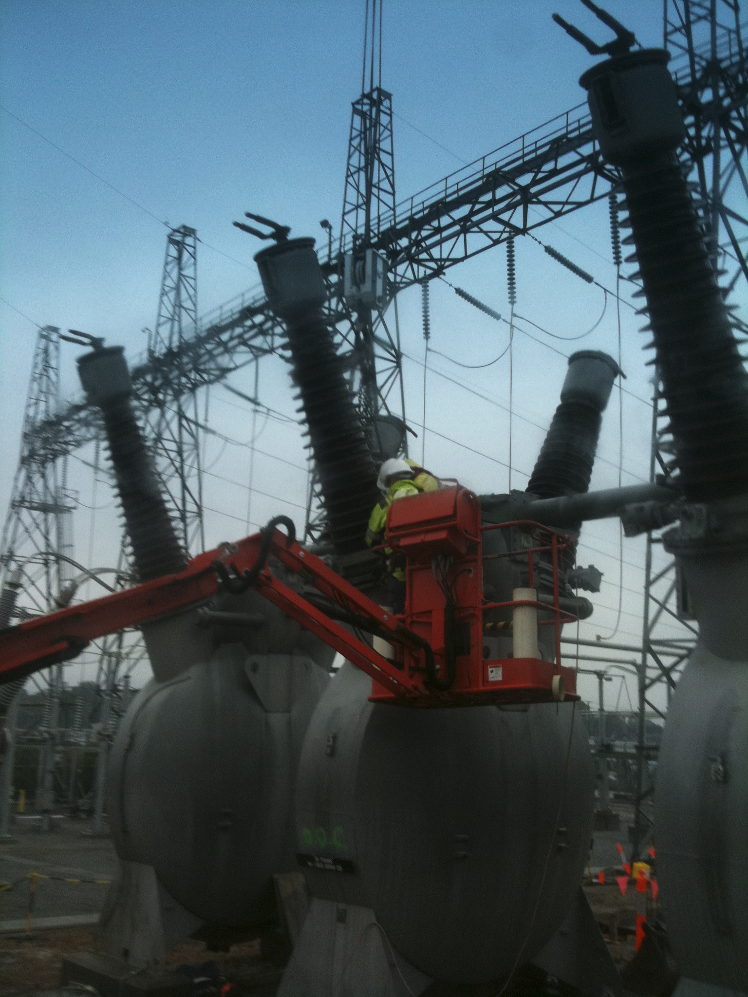 lifting at power plant - JFK Mobile crane hire and rigging Melbourne