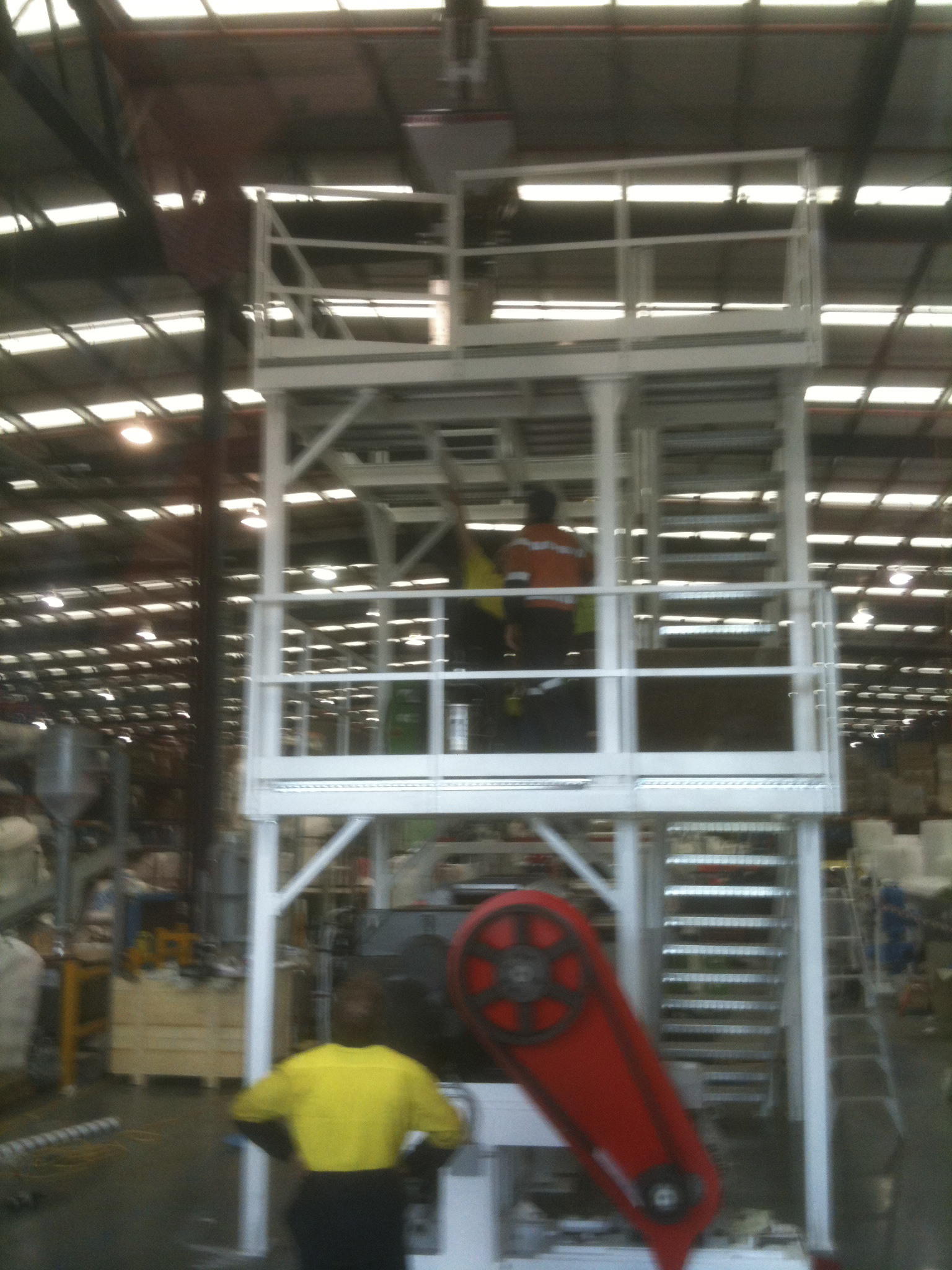 industrial work - JFK Mobile crane hire and rigging Melbourne